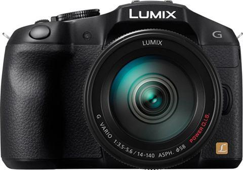 Panasonic Lumix DMC-G6 + 14-140mm - Systeemcamera - Zwart