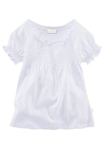 PETITE FLEUR T-shirt met smok-effect
