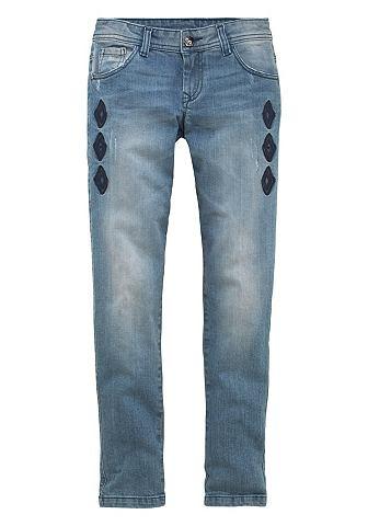 ARIZONA Jeans met etnoborduursel