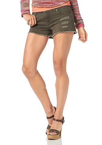 LAURA SCOTT 5-pocketsjeans in used-look