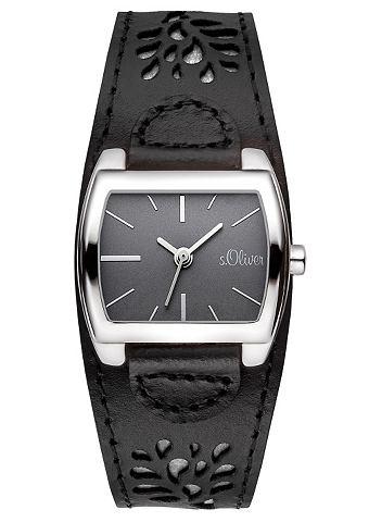 s.Oliver SO2878LQ Horloge Zwart