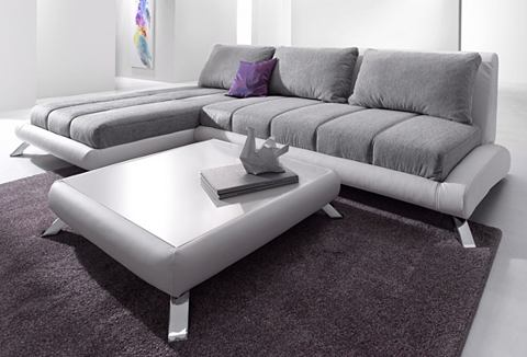 Hoekbank in lounge-design