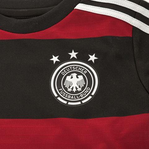 adidas Performance Set: Duitse voetbalbond babyset Away WK 2014 voor kinderen
