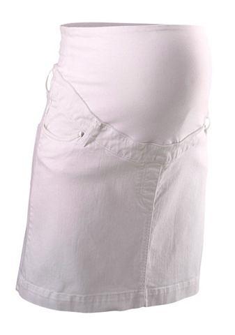 NEUN MONATE Positie-jeansrok in 5-pocketsstijl