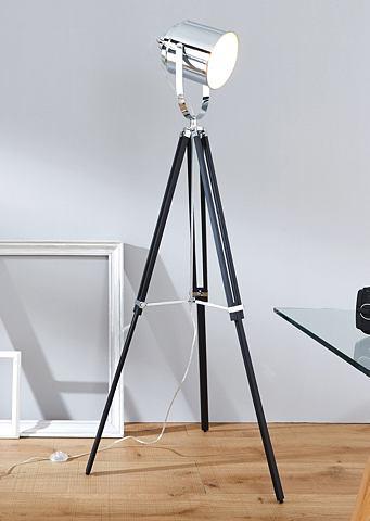 BRILLIANT Staande lamp met voetschakelaar