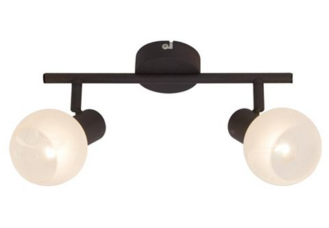 BRILLIANT Plafondlamp met albastkleurig glas