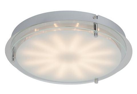 BRILLIANT Plafondlamp met melkglas