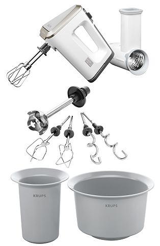 Krups 3 Mix 9000 Set (GN 9071) Handmixer Wit