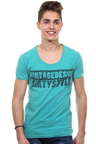 CATCH T-shirt met ronde hals, slim fit