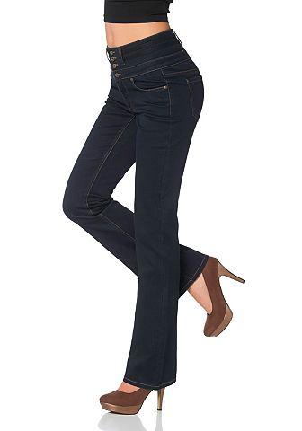 ARIZONA Boot-cut-jeans met stretch-inzet achter