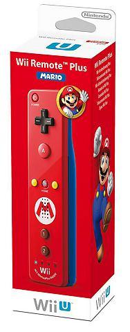 Wii U Remote Controller Plus Mario Edition