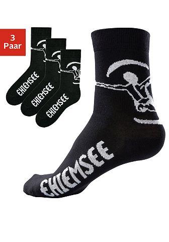 Basic sokken, Chiemsee, set van 3 of 6 paar