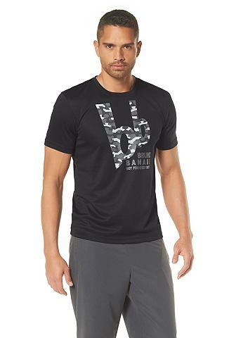BRUNO BANANI Functioneel T-shirt met logoprint