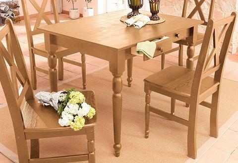HOME AFFAIRE Eettafel van massief grenenhout