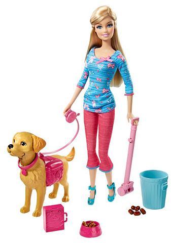MATTEL Speelset Barbie & zindelijk hondje