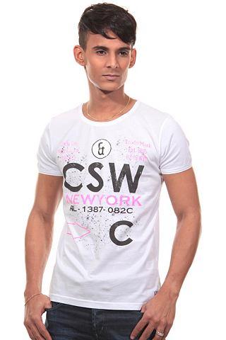 CATCH T-shirt met ronde hals, regular fit