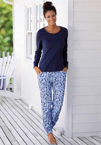VIVANCE DREAMS Pyjama met gedessineerde broek