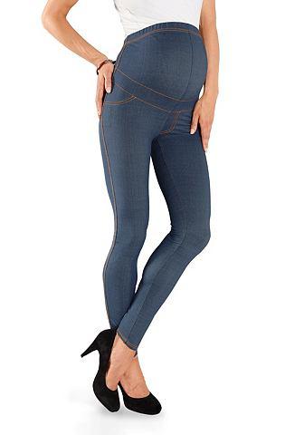 NEUN MONATE Zwangerschapslegging in jeans-look