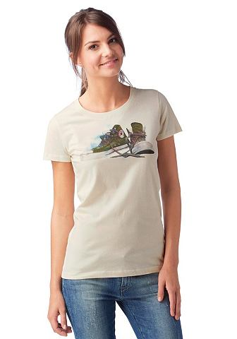 CONVERSE T-shirt SPRAY PAINT CHUCKS CREW TEE