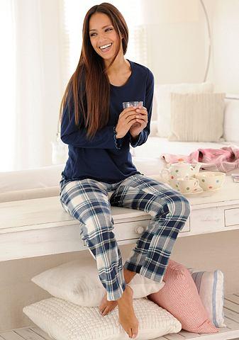 LASCANA Pyjama van puur katoen