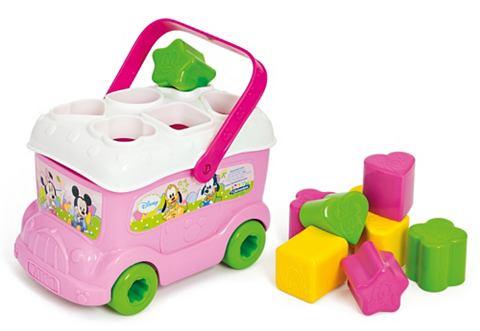 CLEMENTONI Leerspel Baby Minnie sorteerbus