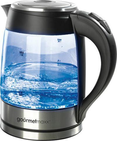 GOURMET MAXX Glazen waterkoker met LED-verlichting