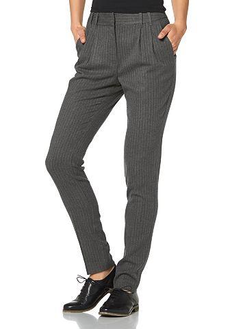LAURA SCOTT Pantalon met persplooien