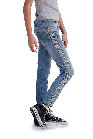 ARIZONA Jeans met etno-borduursel voor meisjes
