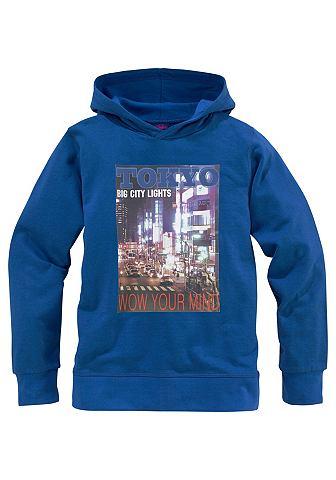 BUFFALO Capuchon-sweatshirt met fotoprint