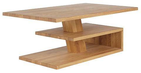 HOME AFFAIRE Salontafel van massief hout