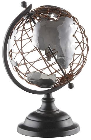 HOME AFFAIRE Deco-object Wereldbol