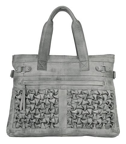 by Burin leren dames shopper