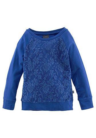 BUFFALO Sweatshirt met kant