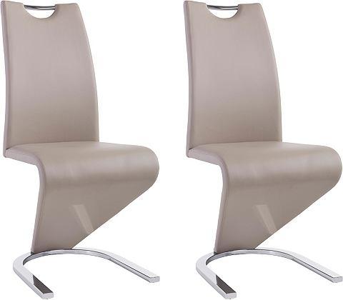 Vrijdragende stoel in Z-model in set van 2