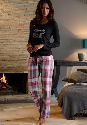 H.I.S Pyjama van puur katoen