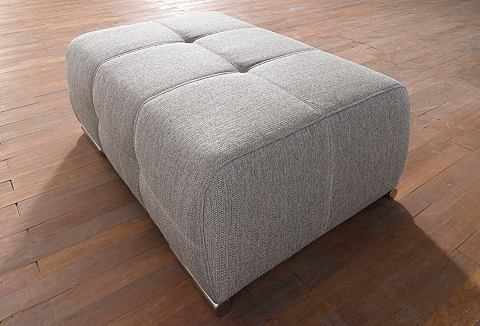 SIT & MORE Hocker met poten in chroom-look