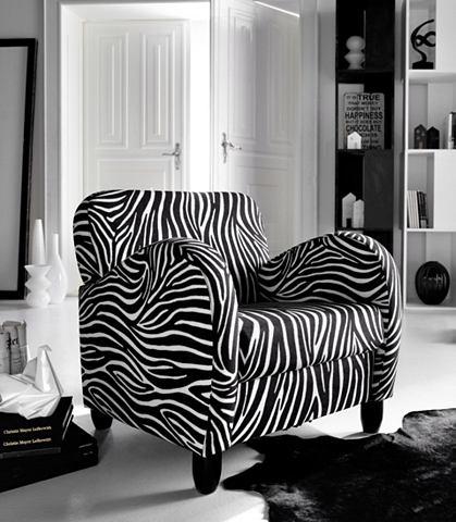 INOSIGN Fauteuil in zebra-look