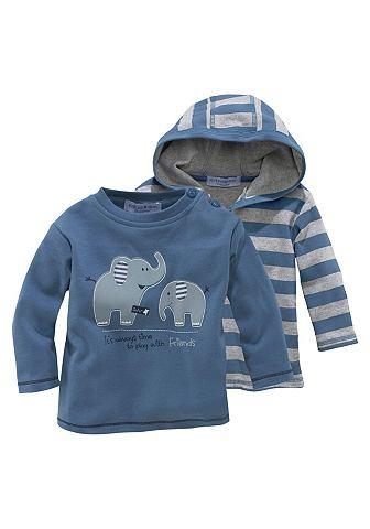 KLITZEKLEIN Capuchonshirt en shirt voor baby's