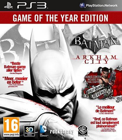 PS3 Game Batman, Arkham City (GOTY Edition)