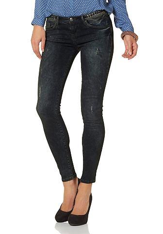 LTB Skinny-jeans Jolie met studs bij de band