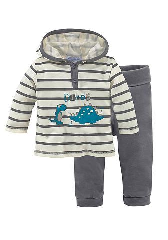 KLITZEKLEIN Shirt & broek in 2-delige baby-set