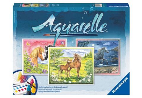 Ravensburger Aquarelle Gelukkige paarden