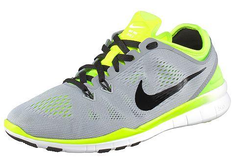 Nike Performance FREE 5.0 TR FIT 5 Sportschoenen wolf grey/black/volt