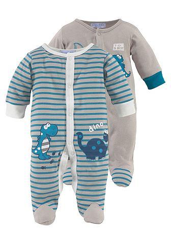 KLITZEKLEIN Baby-pyjama in set van 2