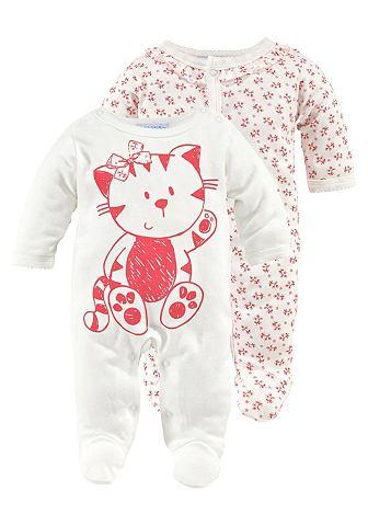 KLITZEKLEIN Pyjama voor baby's in set van 2