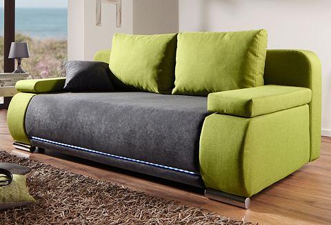 Bedbank met RGB-LED-lichtstrook