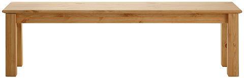 HOME AFFAIRE Bank met onderstel van massief hout