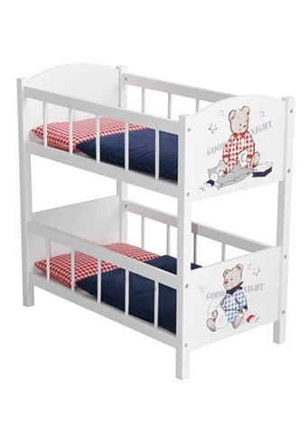 ROBA Poppen-stapelbed Teddy College