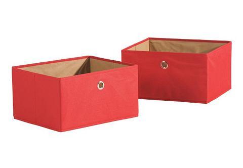 ROBA Canvas-opbergbox in set van 2
