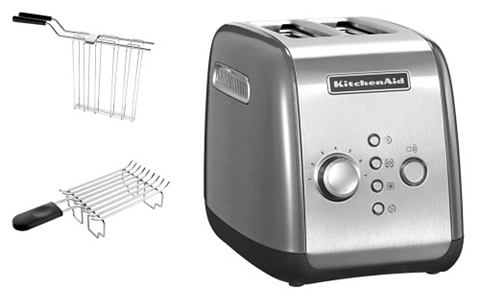 KITCHENAID Toaster voor 2 sneden brood 1100 watt